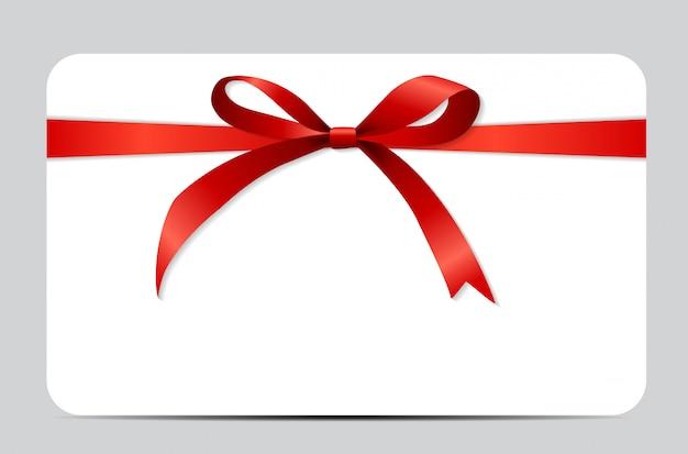 Set regalo con nastro rosso e fiocco.