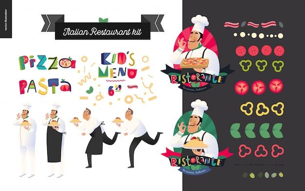 Set ristorante italiano