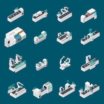 Set robot futuro medico