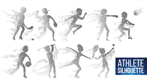 Set sagoma atleta