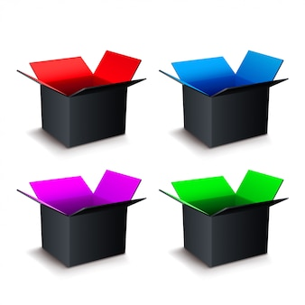 Set scatola aperta