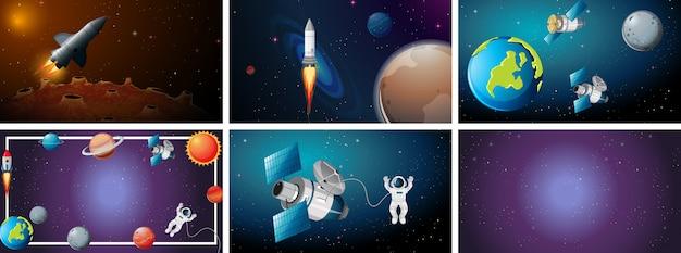 Set scena di grande spazio