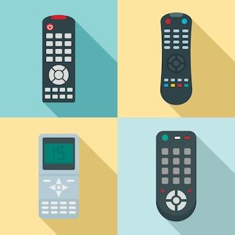 Set telecomando, stile piatto