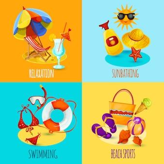 Set vacanze estive