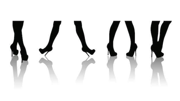Set vendita gambe