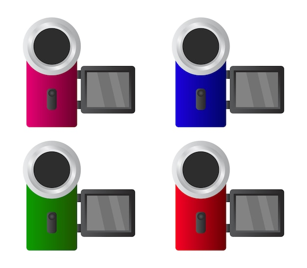 Set videocamera