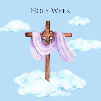 Settimana santa dell'acquerello