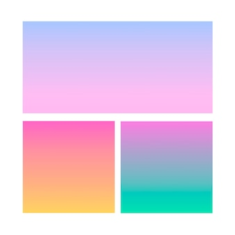 Sfera astratta sfumata di viola, rosa, blu