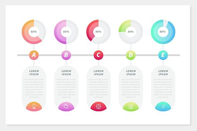 Sfera di harvey di infographics