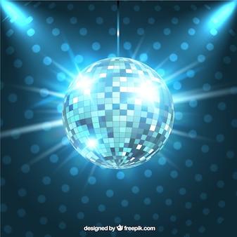 Sfera lucida della discoteca