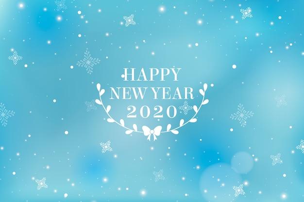 Sfocato sullo sfondo del nuovo anno
