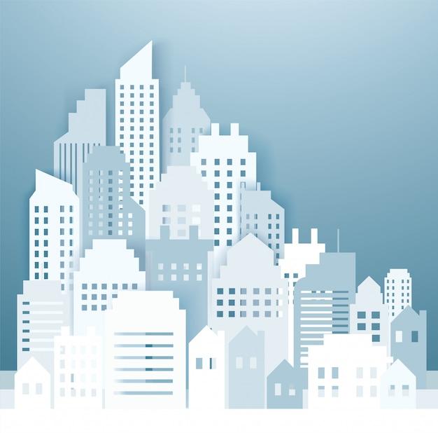 Sfondi di skyline della città moderna
