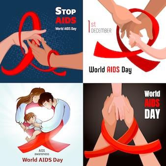Sfondi per la giornata mondiale dell'aids