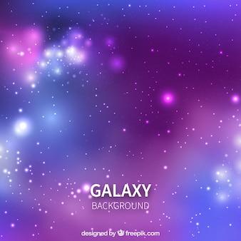 Sfondi sfumati viola e blu su sfondo galassico