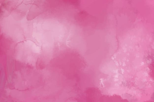 Sfondo acquerello con macchie rosa