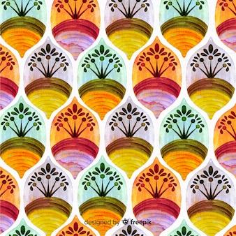 Sfondo acquerello mosaico