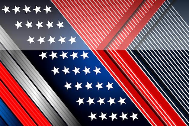 Sfondo america per la festa dell'indipendenza