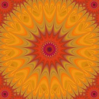 Sfondo arancione psichedelico
