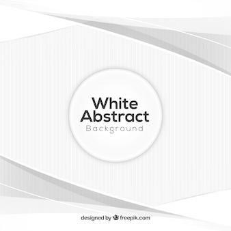 Sfondo astratto bianco con stile elegante