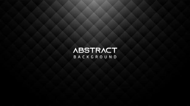 Sfondo astratto bianco e nero con quadrati e copia spazio per il testo