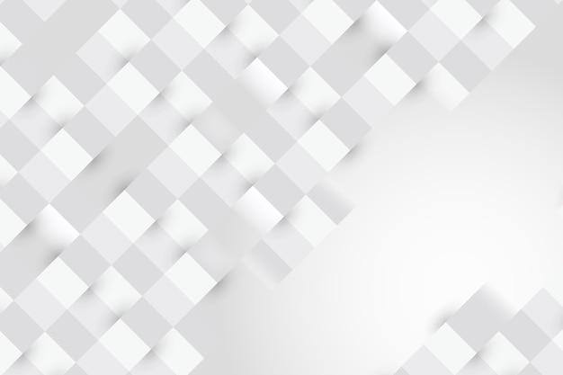 Sfondo astratto bianco in stile 3d