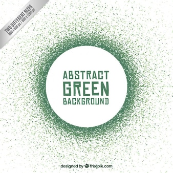 Sfondo astratto cerchio verde