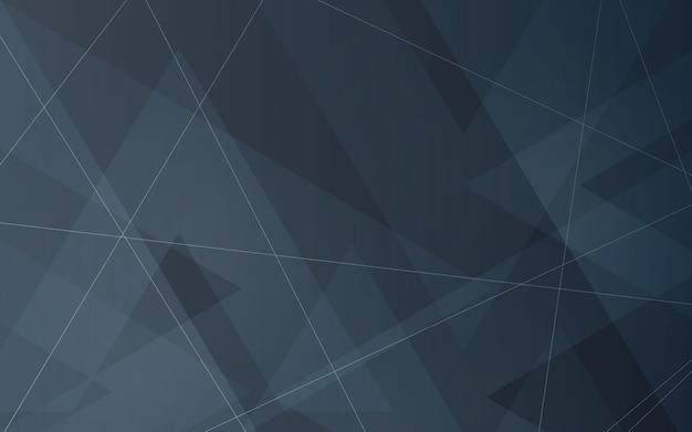 Sfondo astratto colore grigio e colore nero moderno geometrico