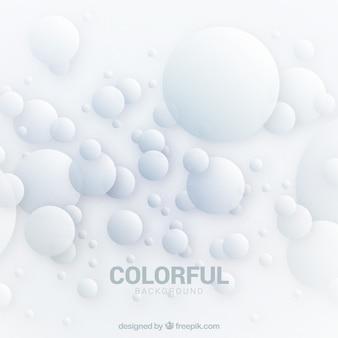 Sfondo astratto con forme di bolla