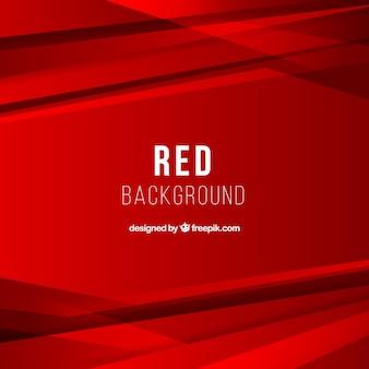 Sfondo astratto con forme rosse
