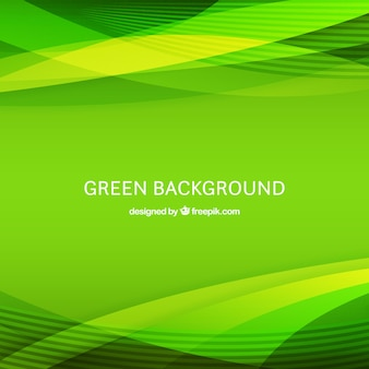 Sfondo astratto con forme verdi
