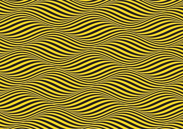 Sfondo astratto con motivo di illusione ottica