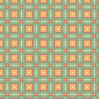 Sfondo astratto con un design pattern colorato