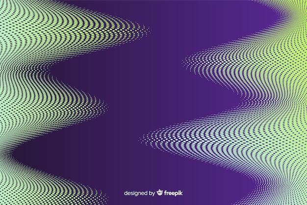Sfondo astratto con vibrante effetto mezzetinte