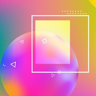 Sfondo astratto design geometrico minimale.