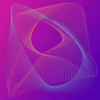 Sfondo astratto elementi colorati. linee liquide, gradienti. ologramma