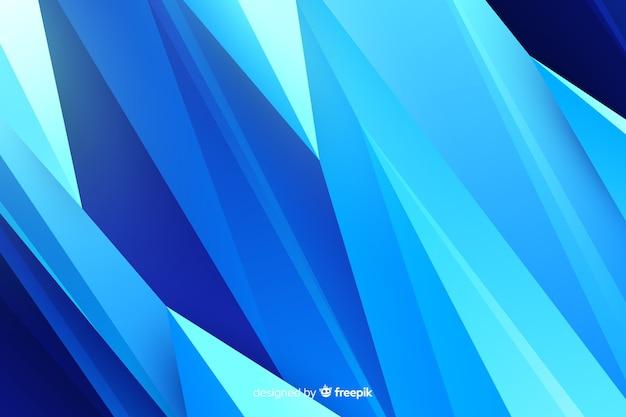 Sfondo astratto forme blu