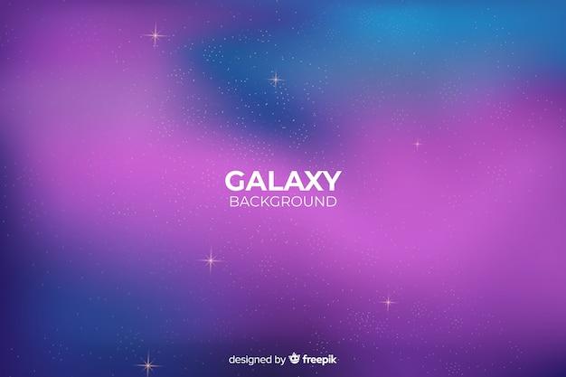 Sfondo astratto galassia sfumatura