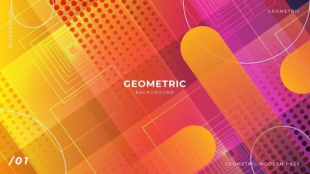 Sfondo astratto geometrico colorato