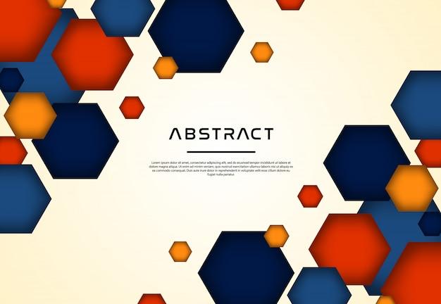 Sfondo astratto geometrico