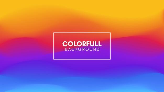 Sfondo astratto gradiente colorfull