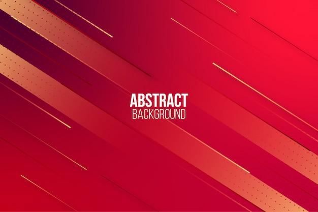Sfondo astratto gradiente rosso dinamico