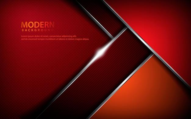 Sfondo astratto metallico rosso