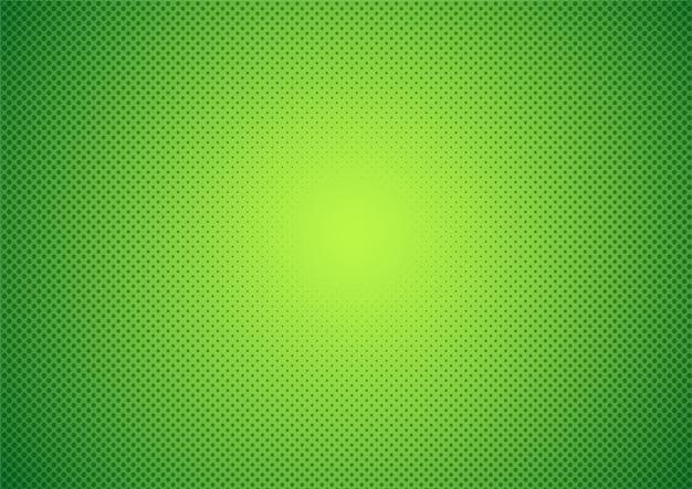 Sfondo astratto mezzitoni stile cartone animato verde.