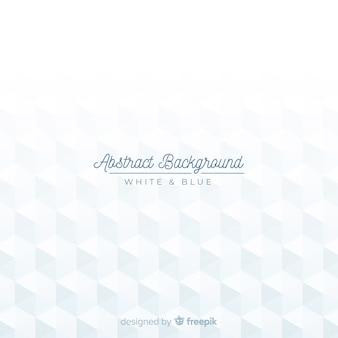 Sfondo astratto moderno bianco con forme geometriche