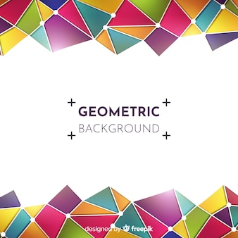 Sfondo astratto moderno con forme geometriche