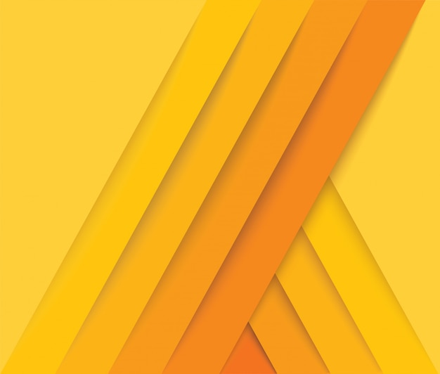 Sfondo astratto moderno linee gialle