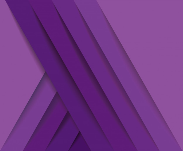 Sfondo astratto moderno linee viola