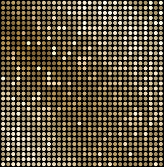Sfondo astratto mosaico d'oro.
