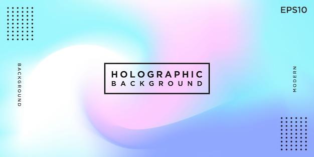 Sfondo astratto olografico colorato