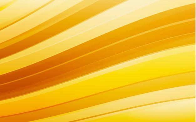 Sfondo astratto onda gialla. linee ondulate per brochure, sito web, design volantino.